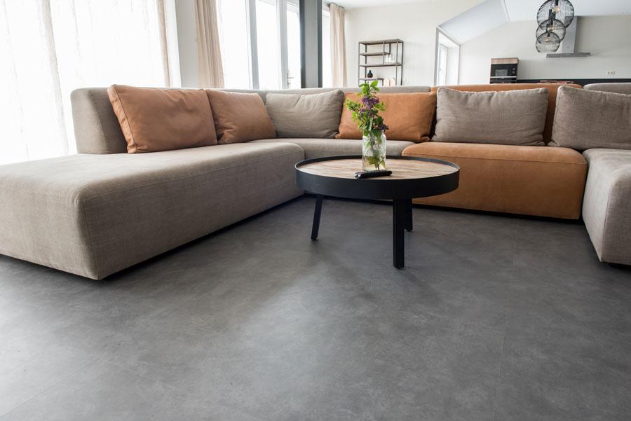 Linolboden als pflegeleichter Wohnzimmerboden